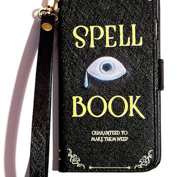 Spell Book iPhone Wallet Case