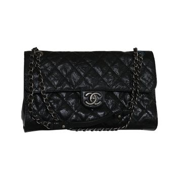 CHANEL JUMBO 2.55 CAVIAR Flap Bag