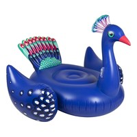 Luxe Peacock Ride-On Pool Float