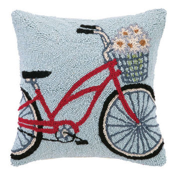 Bicycle Hook Pillow