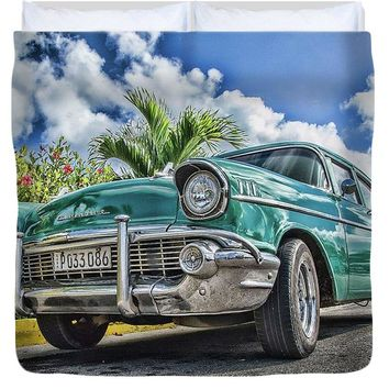 57 Chevy - Duvet Cover
