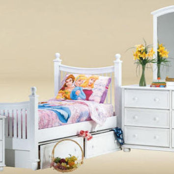 Crystal Springs Twin Size Bed