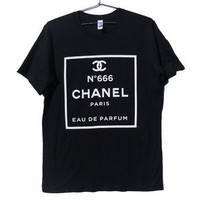Killer Condo — ChanHELL no. 666 Parody T-shirt | White on Black