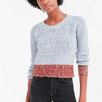 Cooperative Colorblock Crew Neck Sweater - Urban Outfitters