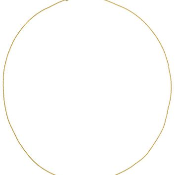 Wouters & Hendrix Gold Single Diamond Necklace
