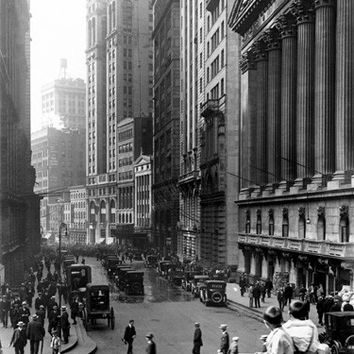 New York City Wall Street Fine Art Print