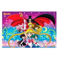 Sailor Moon City Lights Poster