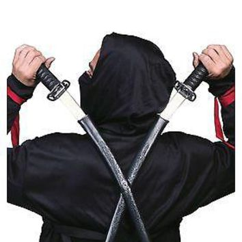 Double Plastic Toy Ninja Swords
