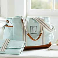 Aqua Classic Diaper Bag | Pottery Barn Kids