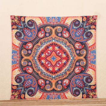 2017 new Mandala tapestry  wall hanging printed decorative Bohemian Hippie Tapestry wall tapestry 145*145cm