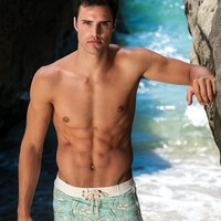 Sauvage Swimwear Pacific Floral Swim Trunks