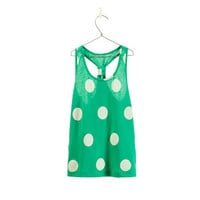 POLKA DOT TANK TOP - T - shirts - Girl - Kids | ZARA United States