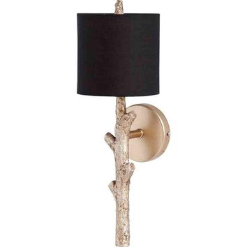 Sabinal Tree Branch Wall Sconce ~ Gold