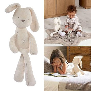 Soft Rabbit Kids baby Bunny Plush Toys Animal Rabbit Stuffed Baby Toddlers Doll Toys