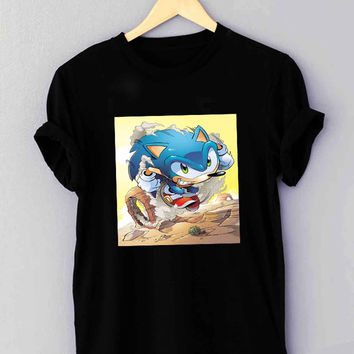 Sonic The Hedgehog - T Shirt for man shirt, woman shirt XS / S / M / L / XL / 2XL / 3XL *01*