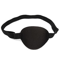 Black Medical Concave Eye Patch