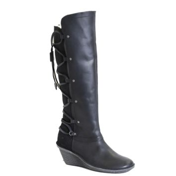 NEW OTBT Women's High Boots Abroad in Black