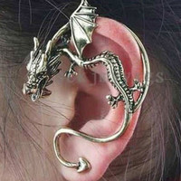 Dragon Wrap Earring