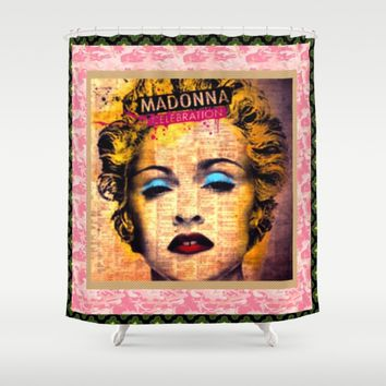 madonnacelebration Shower Curtain by Kathead Tarot
