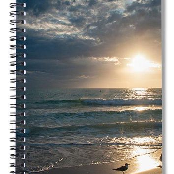 Sunset Dance - Spiral Notebook