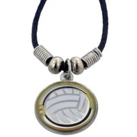Volleyball Mood Necklace - Color Changes
