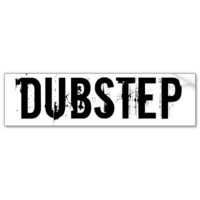 DUBSTEP BUMPER STICKER from Zazzle.com