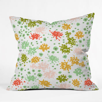 Heather Dutton Sweet Tea Outdoor Throw Pillow