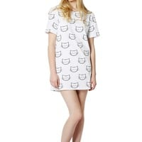 CAT FACE dress