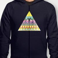Pyramid in Space. Hoody by Nick Nelson | Society6