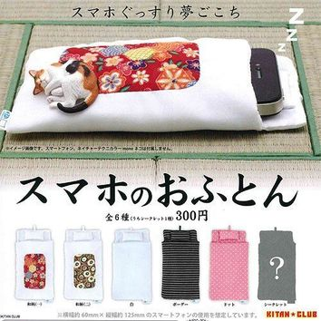 Futon 6 Pics Set Of Capsule Sumaho From Japan