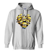 bastille minion Funny 2 Mens Hoodie and Womens Hoodie