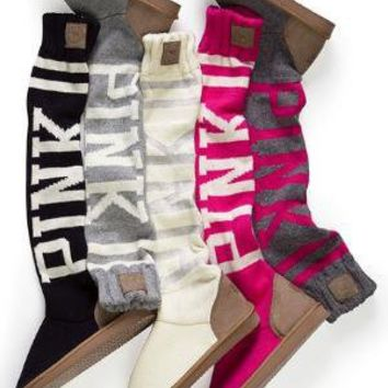 Victoria's Secret - Slouchy Slipper Sock