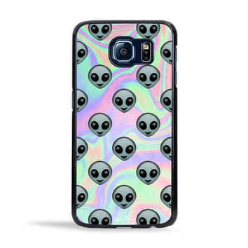 Tie Dye Alien Emoji Case for Samsung Galaxy S6 / S6 Edge