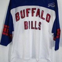 Buffalo Bills NFL Team Apparel Women's Powder Puff Jersey