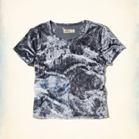Girls Velvet Baby T-Shirt | Girls New Arrivals | HollisterCo.com