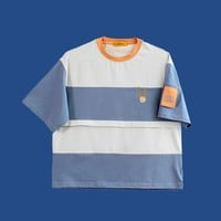 Damooshu City Girl Icon Stripe Tee