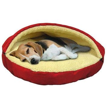 Cozy Pet Cave Bed