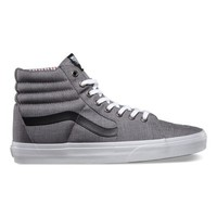 Vans Suiting Stripes Sk8-Hi (charcoal/true white)