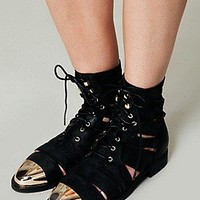 Jeffrey Campbell  Jenson Slash Boot at Free People Clothing Boutique
