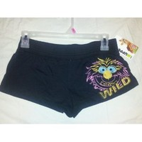 "Womens / Juniors The Muppets ""ANIMAL"" Sleep / Workout / Comfy Shorts Size XS"