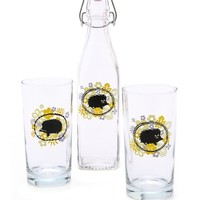 Gift Boutique Mrs. & Mr. Hedgehog Bottle Set