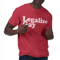 Legalize Gay T Shirts from Zazzle.com