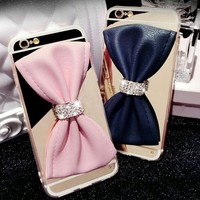 iPhone big bow carrying case
