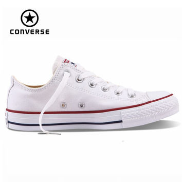 TRENDY TOP QUALITY Original Converse all star shoes men's and women's sneakers for men women low classic Skateboarding  canvas Shoes - TMACHE