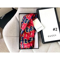 GUCCI Tide brand women's personality stylish wild double G printing headband hair band