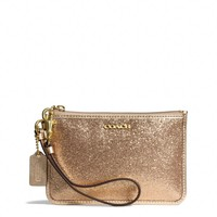 LEGACY SMALL WRISTLET IN GLITTER FABRIC