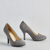Quirky Mew and Me Forever Heel in Slate
