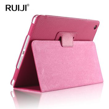 Case for iPad Air 2 Leather Cover Case for iPad New 2017 Original Smart Stand Wake&Sleep Cute Luxury Brand