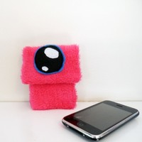 Hot Pink Gadget Mon-stor from Lu & Ed