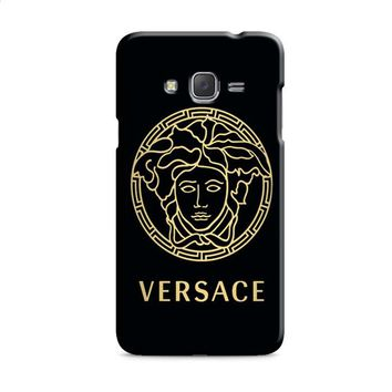versace black and gold Samsung Galaxy J7 2015 | J7 2016 | J7 2017 Case